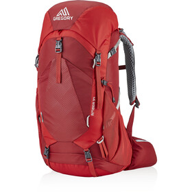 Gregory Amber 34 Backpack Women sienna red